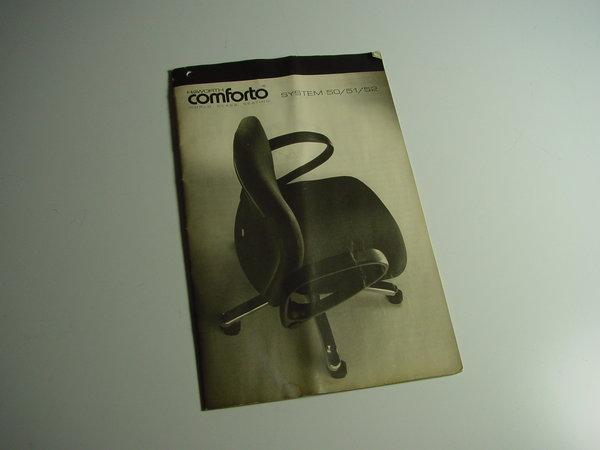Bedienungsanleitung Für Den Bürostuhl Haworth Comforto System 50515